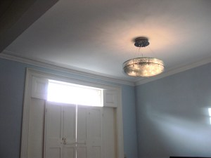 Camden living room after